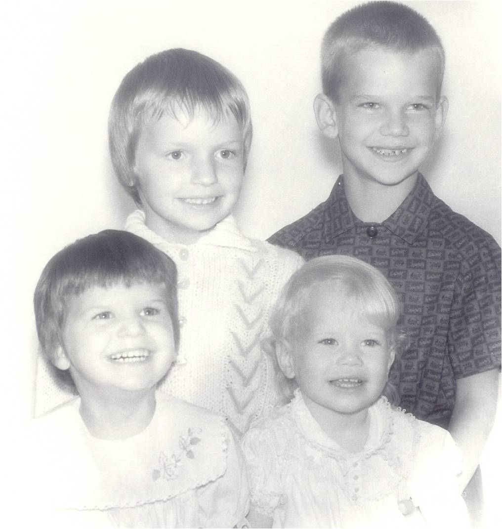 My brother, sister & me (the baby)