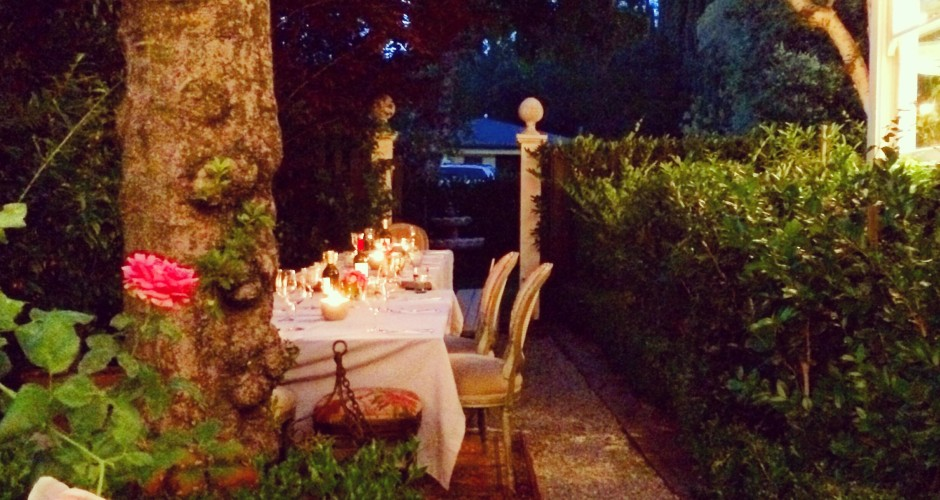 Dining alfresco