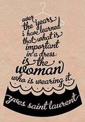 Dress quote
