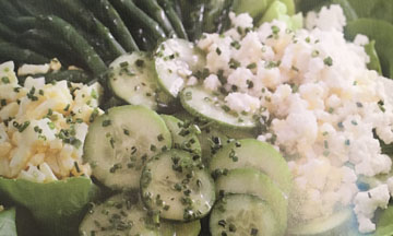 Goddess Salad with Lemon Thyme Dressing