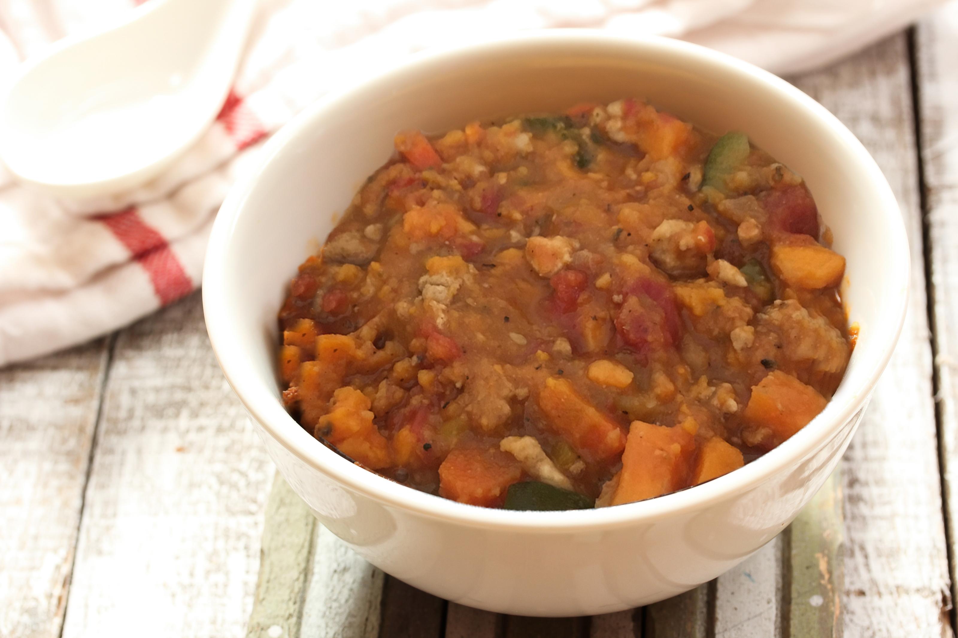 Comfort Food: Healthy Sweet Potato Chili