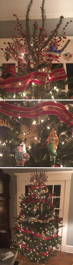 Mary Beth Evans' Christmas Tree for 2016
