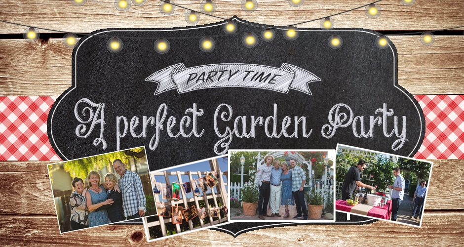 My Sister's Perfect Garden Party