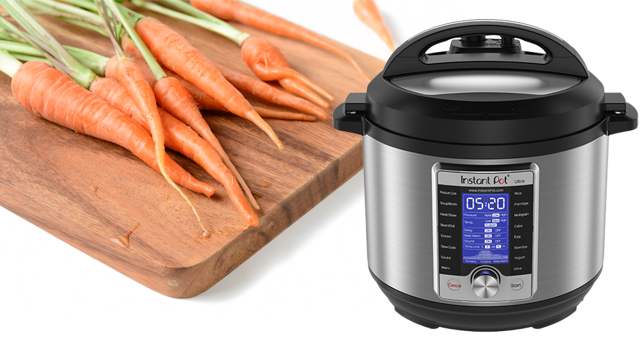 Trying Something New in the Kitchen: Instant Pot Carrot Parsnip Soup